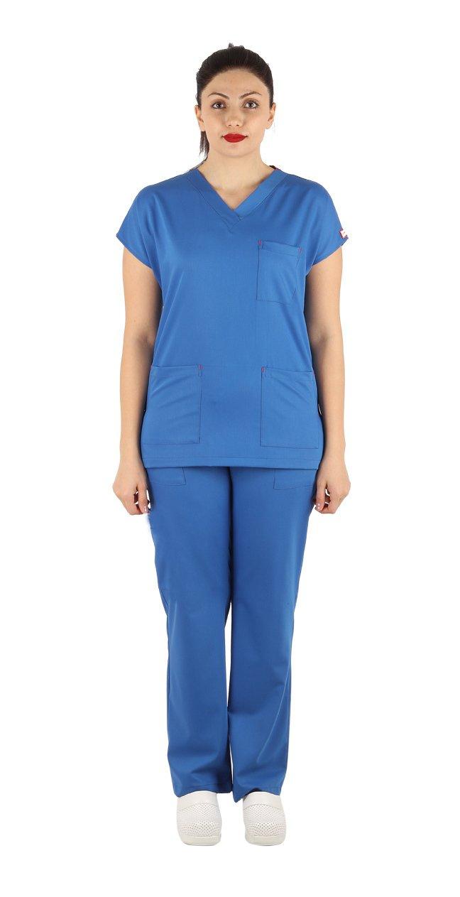 Combinaison chirurgicale bleu