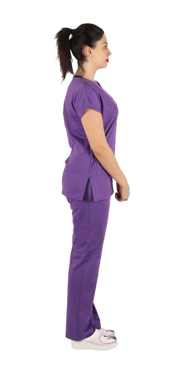 Combinaison chirurgicale violette
