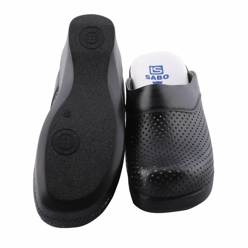 Sabot chaussons talons compensés